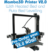 Mamba3D 3D-Printer V2.0 with Heated Bed and Auto Bed Levelling